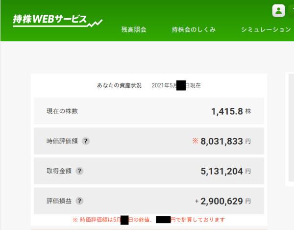 持株 web